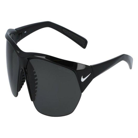 Nike Wraparound Men Black Plastic Frame